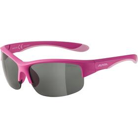 Alpina Flexxy HR Okulary Młodzież, pink matt/black mirror